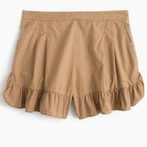 Jcrew Ruffle shorts
